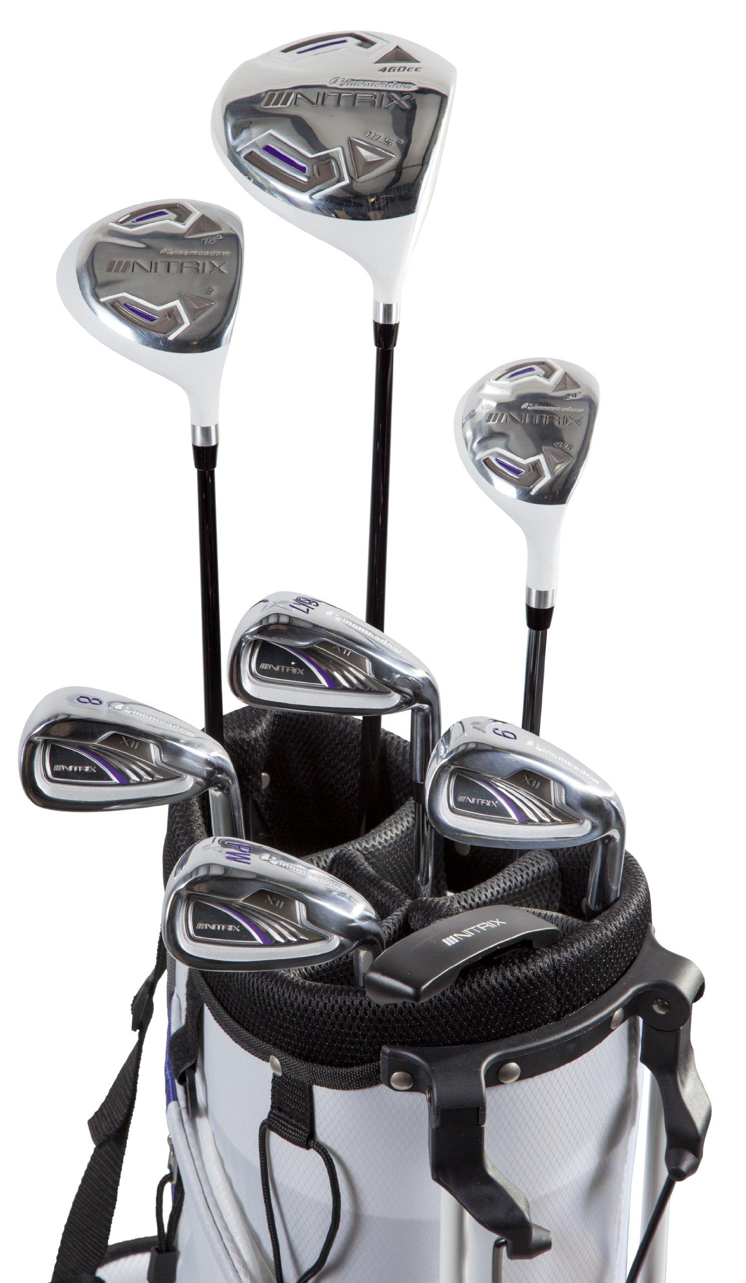 Pinemeadow Golf Women's Nitrix Pro Set Driver, Right Hand