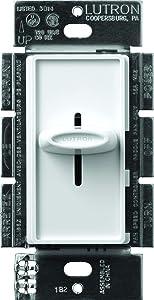 Lutron Electronics Co. SFSQ-F-WH Skylark Fan Control, White