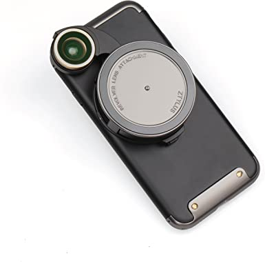 Ztylus 4 en 1 Revolver Lente Smartphone Kit de Cámara para iPhone 8: Super Gran Angular, Macro, Fisheye, CPL, Funda Protectora, Cámara de Teléfono, Foto Video: Amazon.es: Electrónica
