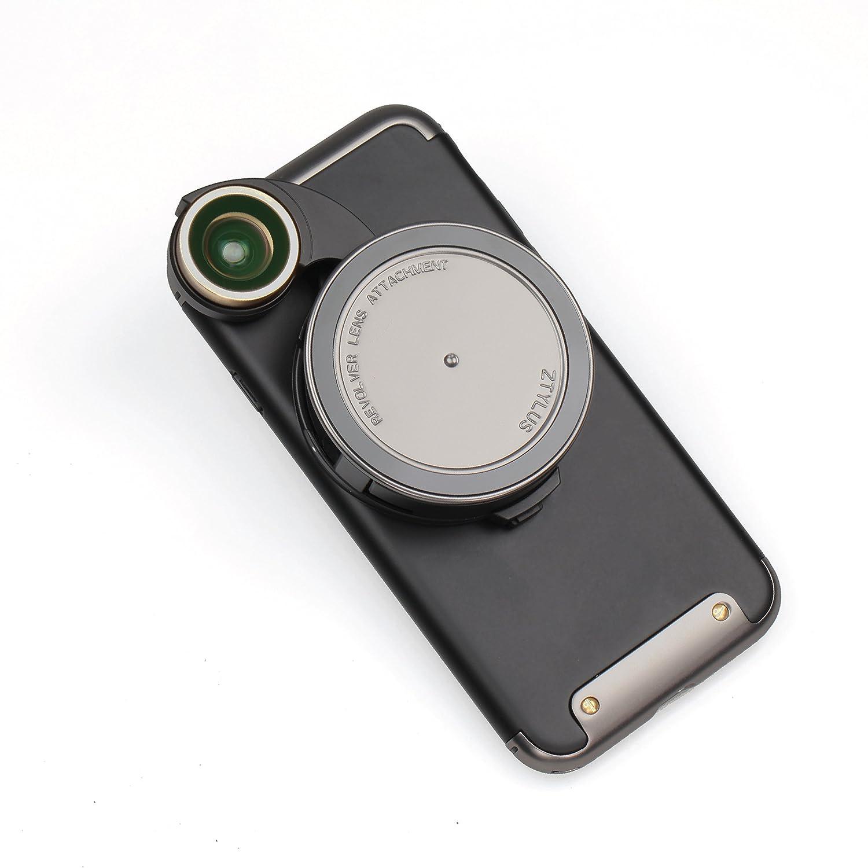 Ztylus 4 - 4 in - - 1リボルバーレンズスマートフォンカメラキットfor iPhone 8 :超広角 Ztylus、マクロ、魚眼レンズ、CPL、保護ケース、電話カメラ、写真ビデオ B076TSM4F2 ガンメタル, 金砂郷町:4a5b25ee --- ijpba.info