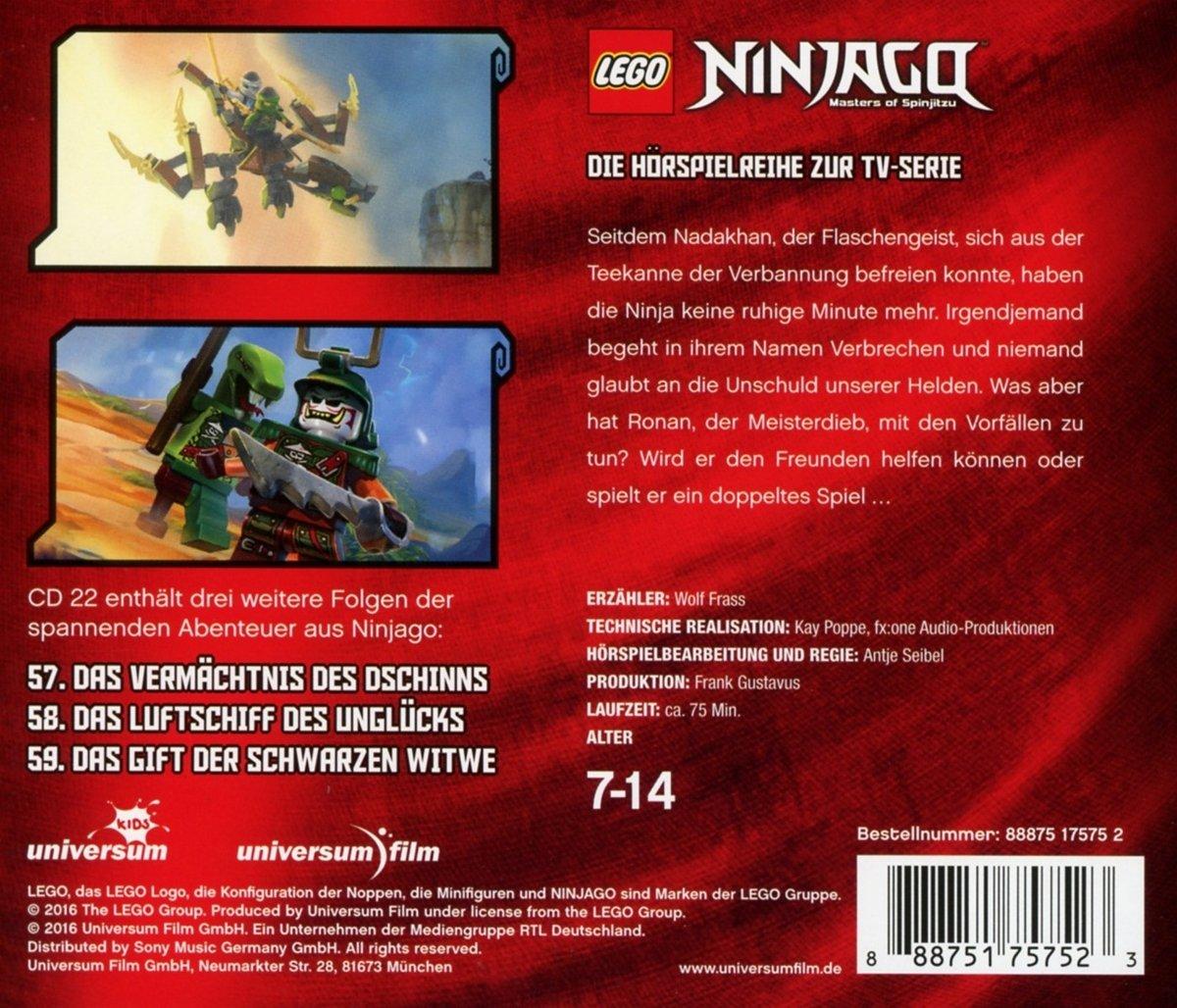 05bbf1ab2389b9 Lego Ninjago (CD 22)