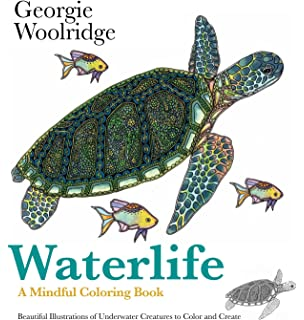 Waterlife A Mindful Coloring Book