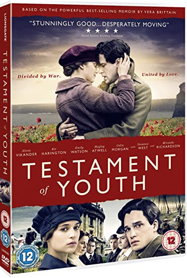 Testament Of Youth Dvd 2014 2015 Amazoncouk Alicia