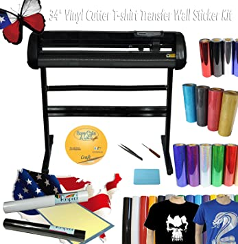 Amazoncom  G Vinyl Cutter Plotter Tshirt Heat Transfer - Custom vinyl decals cutter for shirts