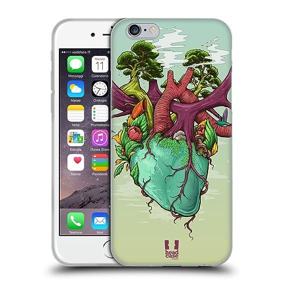 Amazon.com: Head Case Designs Heart of Nature Human Anatomy Soft Gel ...