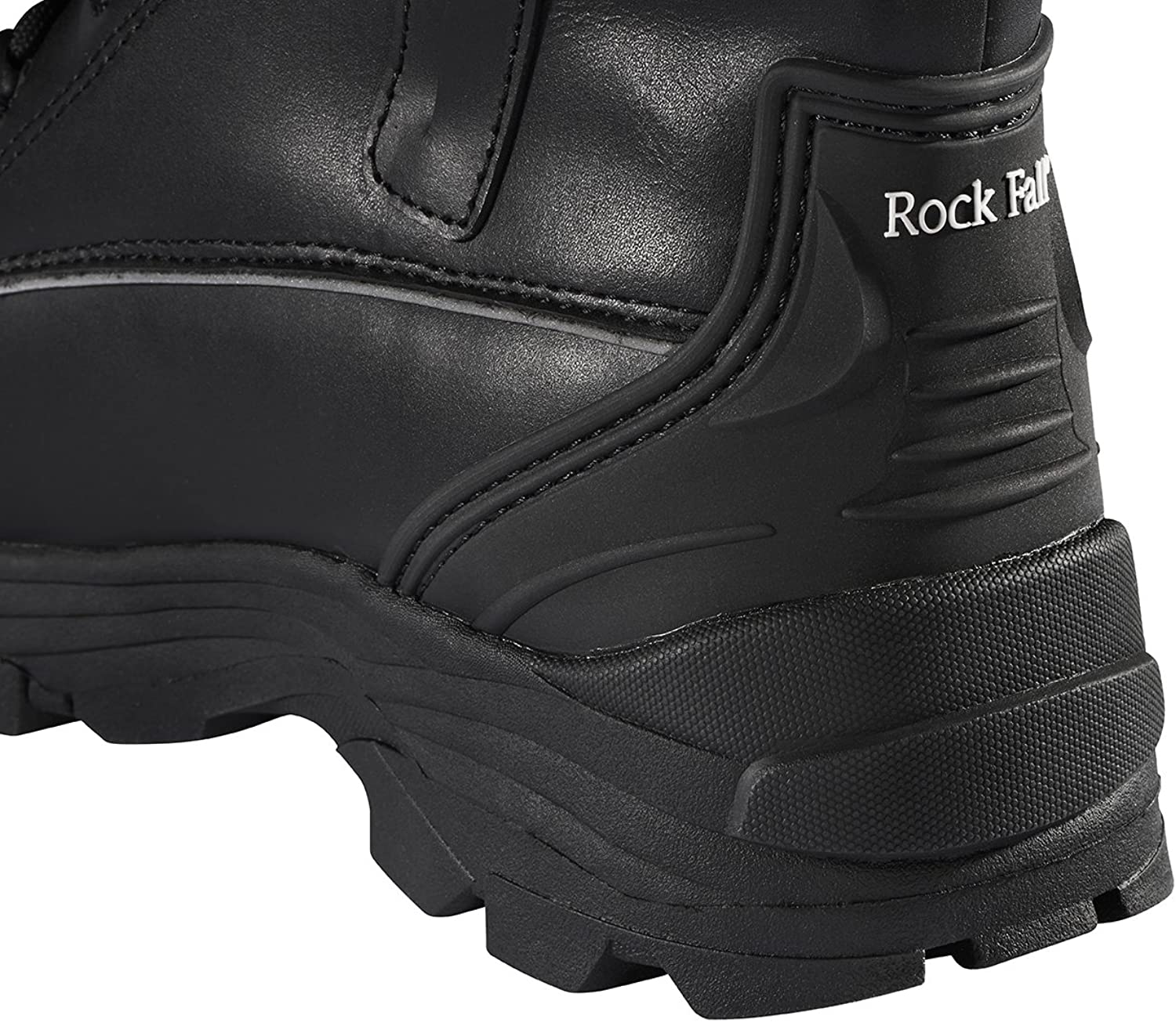 Rock Fall Shale RF15 Black S3 High Leg Steel Toe Water Resistant Safety Boots