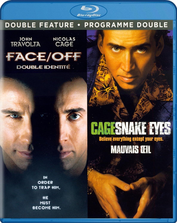 Amazon com: Face/Off / Snake Eyes (Double Feature): Nicolas