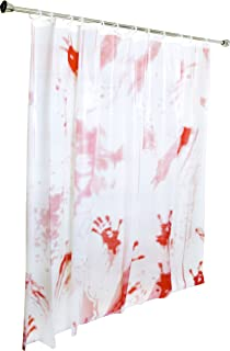 Kangaroos Bloody Shower Curtain Halloween Decoration Double Sided