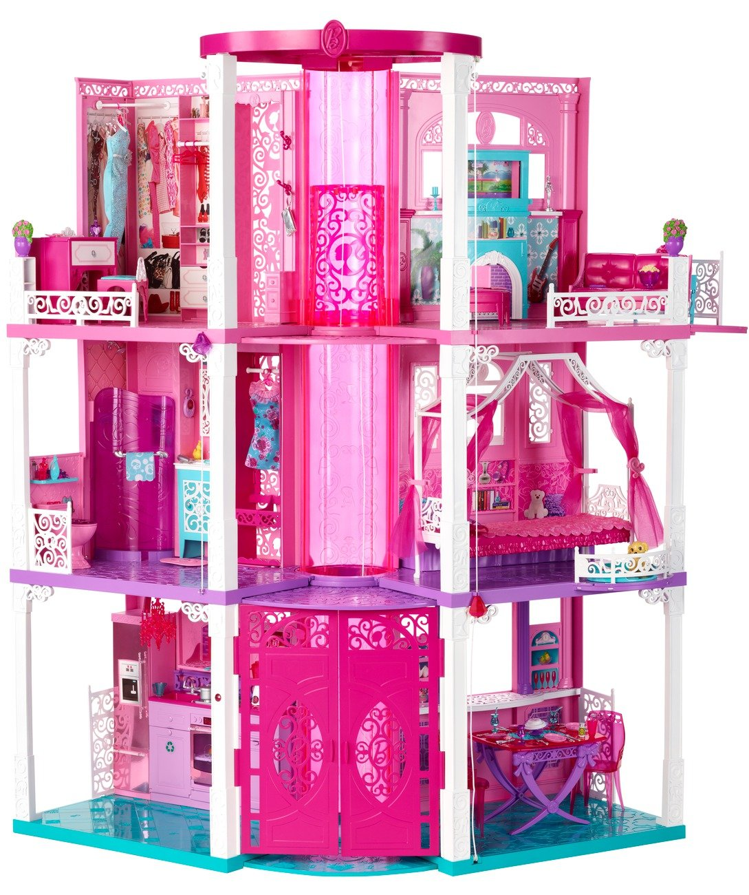 81kC9fRfVrL._SL1300_ amazon com barbie dream house (discontinued by manufacturer Barbie Dreamhouse at bayanpartner.co