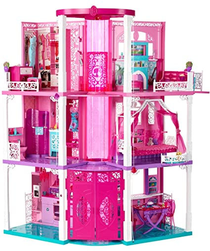 Buy Barbie Dream House Online At Low Prices In India Amazon In