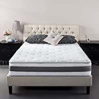 Zinus 10 Inch Gel-Infused Memory Foam Hybrid Mattress, Twin