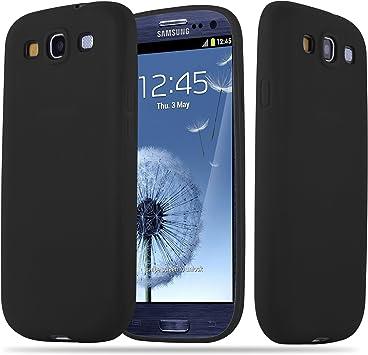 Cadorabo Funda para Samsung Galaxy S3 / S3 Neo en Candy Negro: Amazon.es: Electrónica