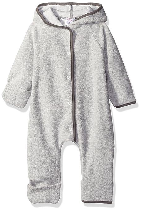 Zutano Cozie - Pelele de forro polar unisex para bebé Gris gris 3-6 meses