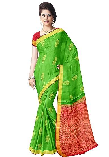 Saravanabava Silks - Kanchipuram Silks Sarees Pure Pattu Soft