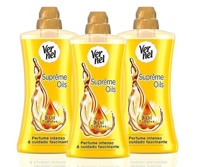 Vernel Supreme Oils Suavizante Concentrado - Pack de 3, 1.2 l ...