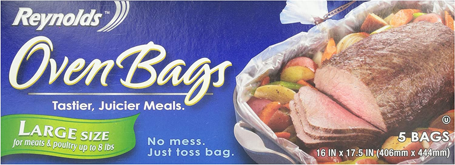 Reynolds Kitchens Large Oven Bags, 16x17.5 Inch, 5 Count