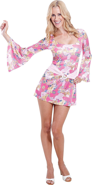 Amscan – Disfraz para mujer años 60 – Disfraz de pollito: Amazon ...