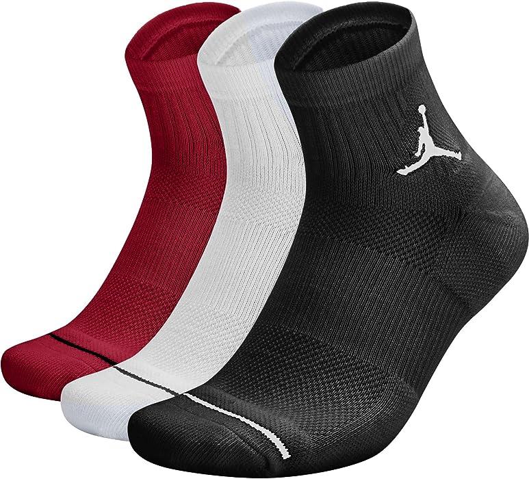 14a4abcd65 Jordan Dri-Fit, Calze Pack di 3 Coppie: Amazon.it: Abbigliamento