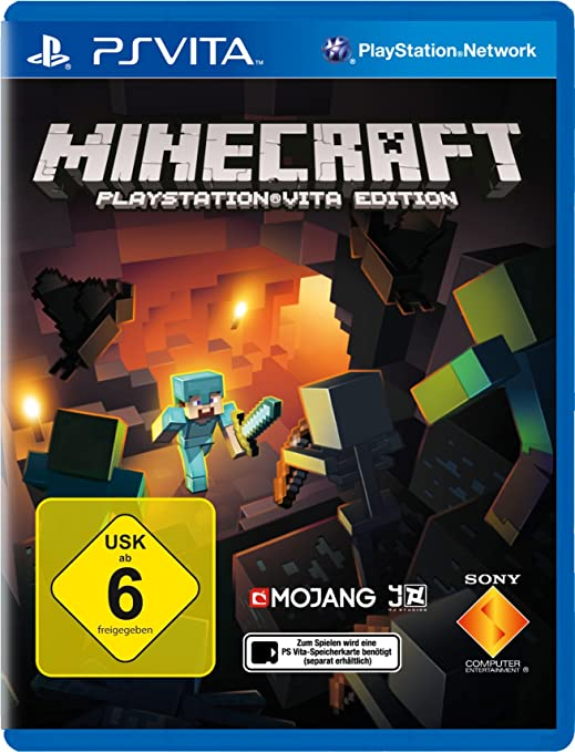 Minecraft PlayStation Vita Edition German Version Amazoncouk - Minecraft spielen video