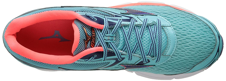 Mizuno Women's Wave Inspire 13 Running Shoe B01N1PXPJL 9 B(M) US|Blue Radiance/Blueprint/Fiery Coral