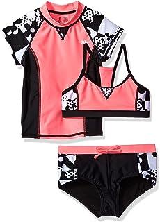 5698bd542db17 Amazon.com: ZeroXposur Girls' Waikiki Girl Tankini Swimsuit 2pc Set ...