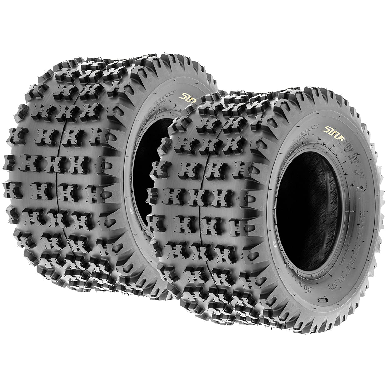 Set of 2 SunF A031 Sport-Performance ATV/UTV Tires 20x11-9, 6-PR, AT-XC-SP 4333412175