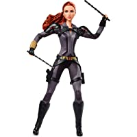Barbie Marvel Studios' Black Widow Doll, 11.5-in, Poseable with Red Hair, Wearing Armored Bodysuit and Boots, Gift for Collectors