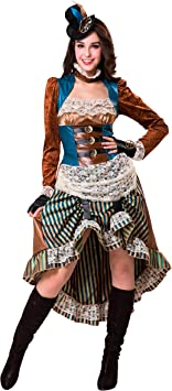 My Other Me Me Me- Steampunk Fantasy Disfraz Multicolor, M-L ...