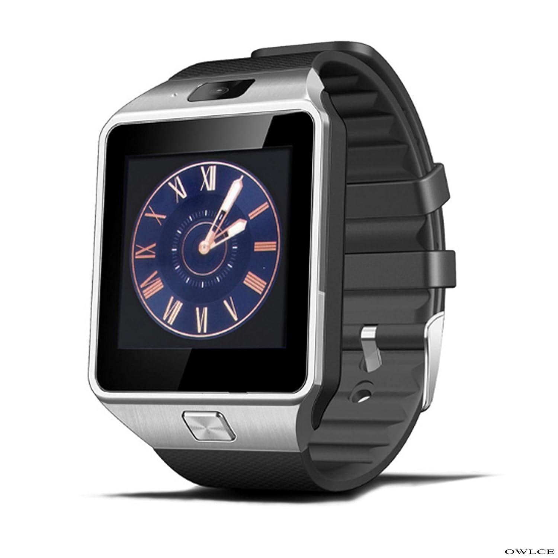 Amazon.com: OWLCE DZ09 Smart Watch Electronics Wristwatch ...