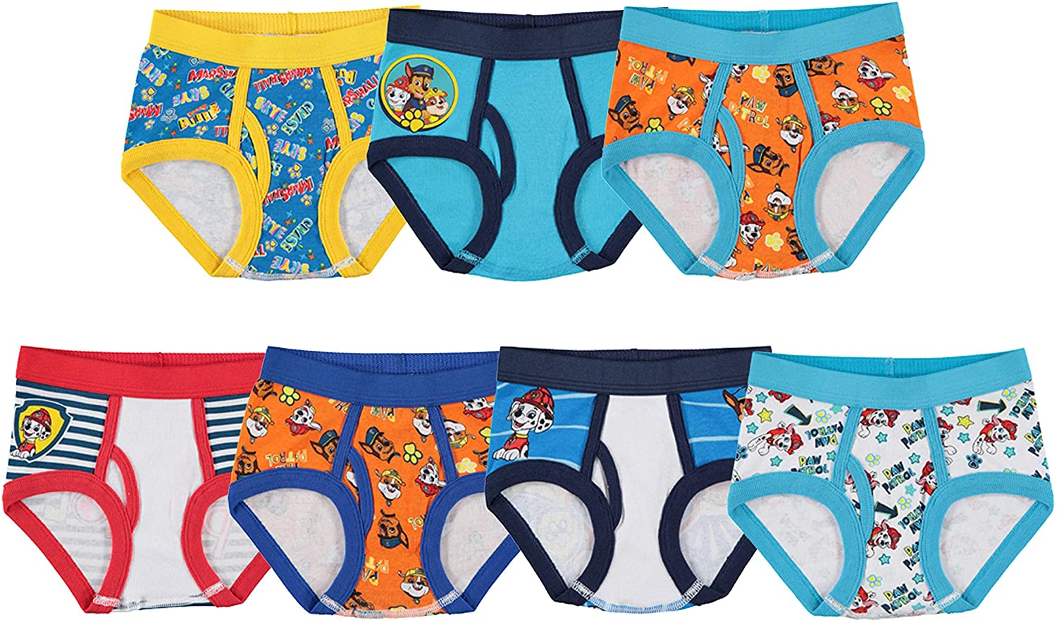Paw Patrol Boys Handcraft ' Toddler Brief, Pack of Seven: Clothing
