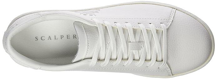 Scalpers Milky Shoe, Zapatillas para Hombre, White, 43 EU: Amazon.es: Zapatos y complementos