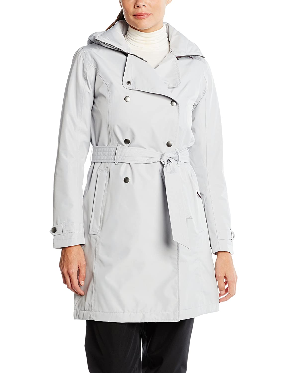 TALLA Large (Tamaño del fabricante:L). Helly Hansen W Welsey Trench Insulated Shell Jacket, Mujer