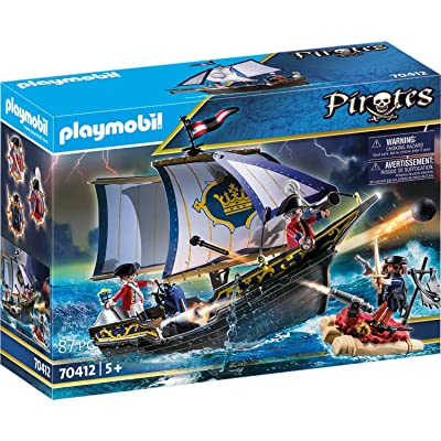 Playmobil Redcoat Caravel 70412 Pirates: Toys & Games