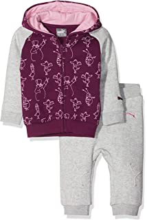 HAOKTY Baby Trainingsanzug Jungen Kleidungs Outfit Langes mit Kapuze Sweatshirts und Gestreiftes Sweathosen Sweatanz/üge f/ür 0-2 Jahre Kleine