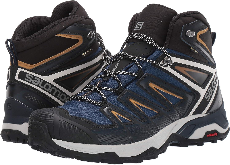 SALOMON Mens X Ultra 3 Mid GTX High Rise Hiking Boots