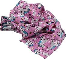 Clevere Kids Mulltücher 3er-Pack bedruckt Mullwindeln Öko-Tex (Einhorn rosa)