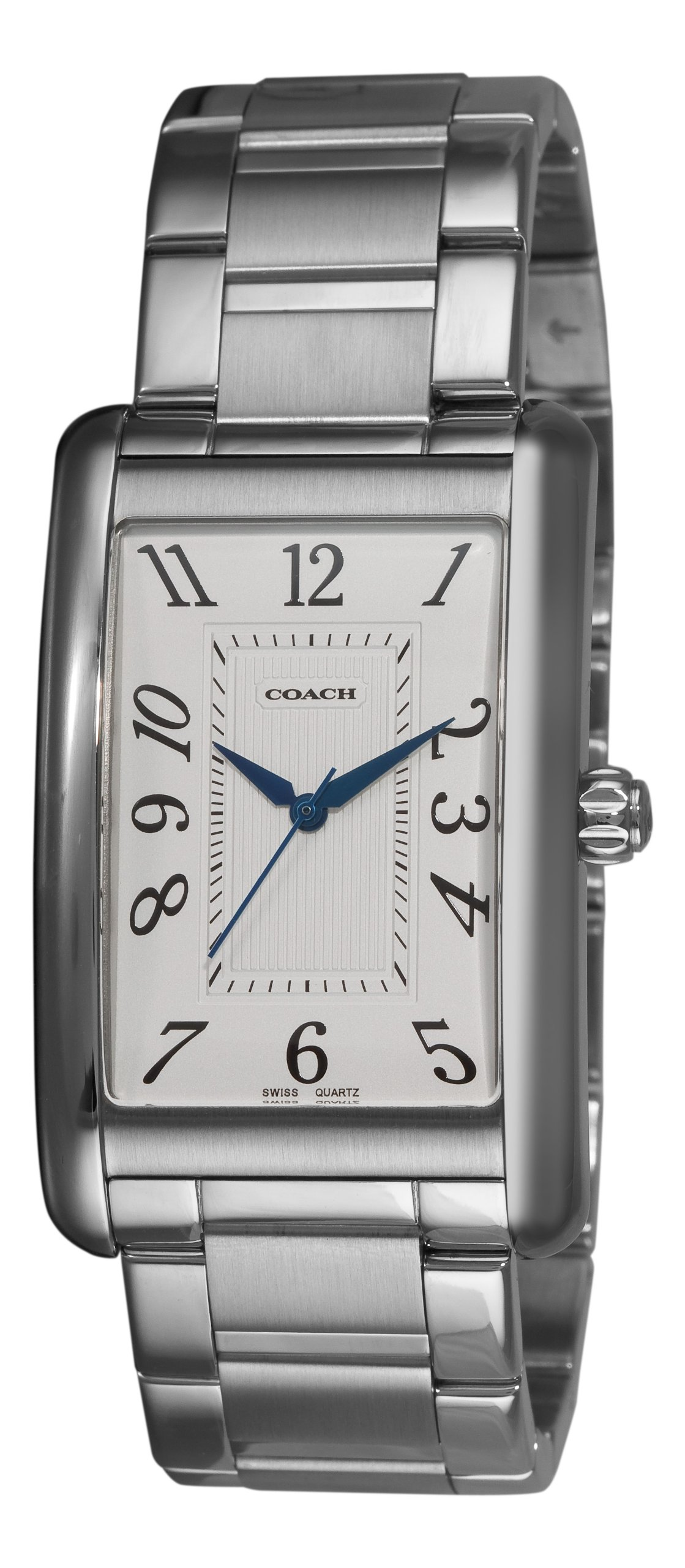 Coach Men's 14600964 Lexington White guilloche Dial Watch