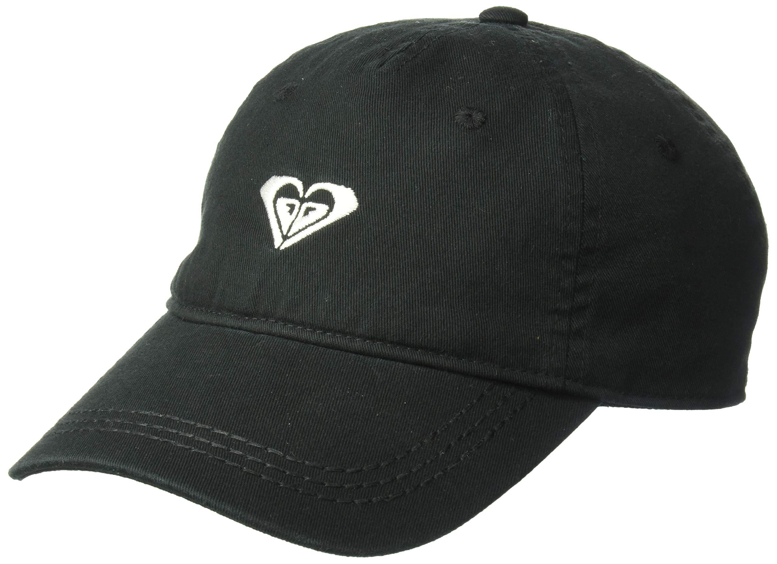 Roxy Women's Dear Believer Logo Baseball Cap, true black 1SZ