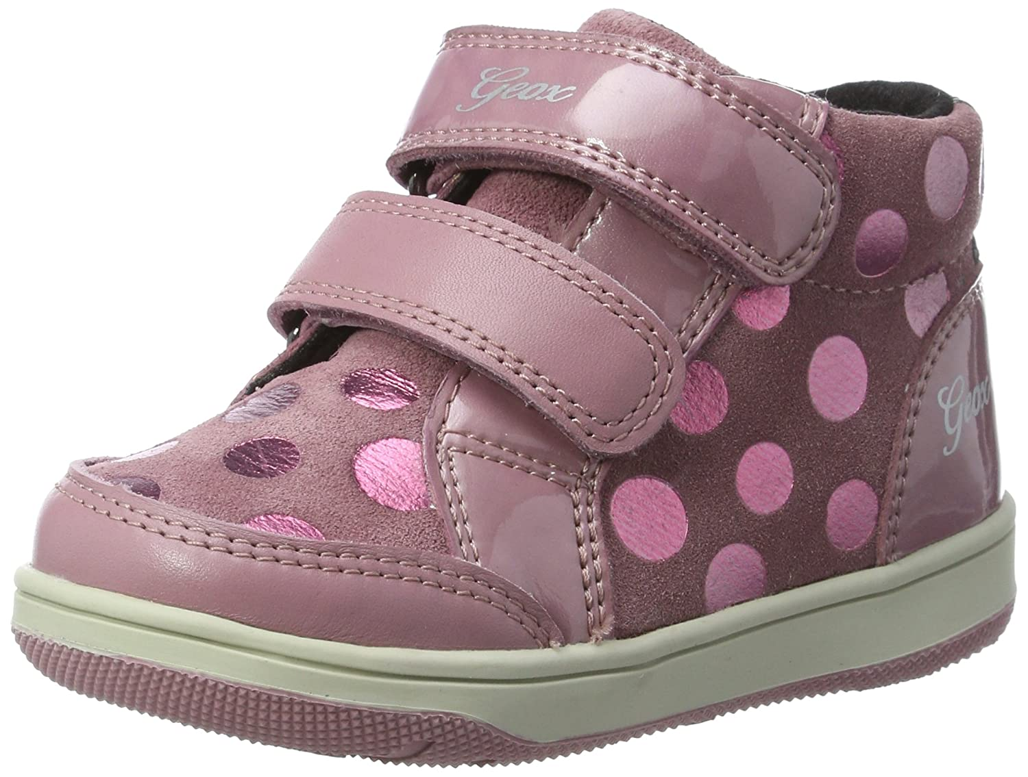 Geox B New Flick F, Sneakers Basses bébé Fille