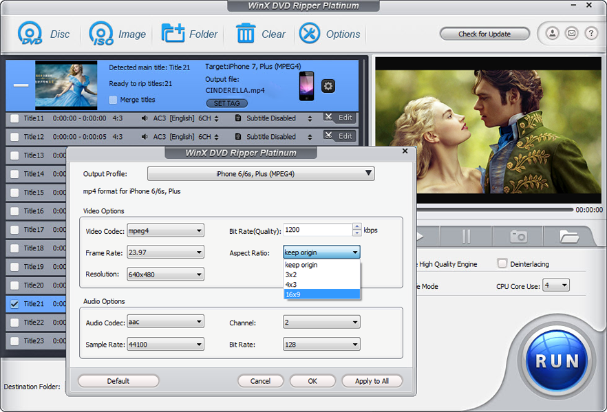 WinX DVD Ripper Platinum V8 5 0 [Download]