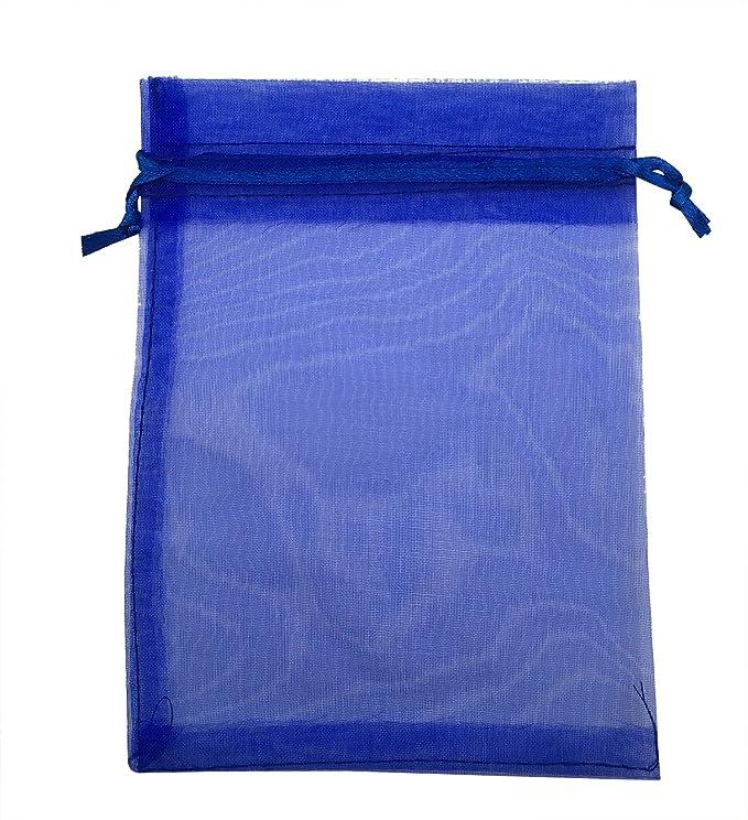 Amazon.com: sungulf 100pcs Organza Pouch Bag Drawstring 5 x ...