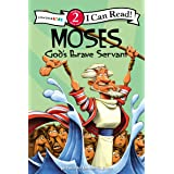 Moses, God's Brave Servant: Biblical Values, Level 2 (I Can Read! / Dennis Jones Series)