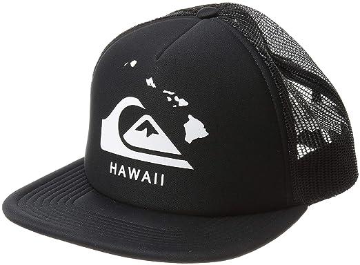 046b71ee Amazon.com: Quiksilver Men's HI Grinder Trucker HAT, Black, 1SZ ...