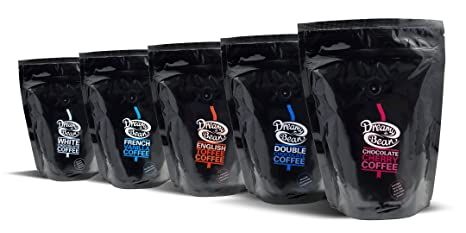 Dreamy Bean Chocolate Hazelnut Cappuccino Flavour Coffee (227g cafetiere grind) / Café Aromatizado Chocolate Avellana Cappuccino 227g: Amazon.es: ...