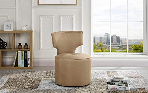 Housel Living Accent Chair, Brown