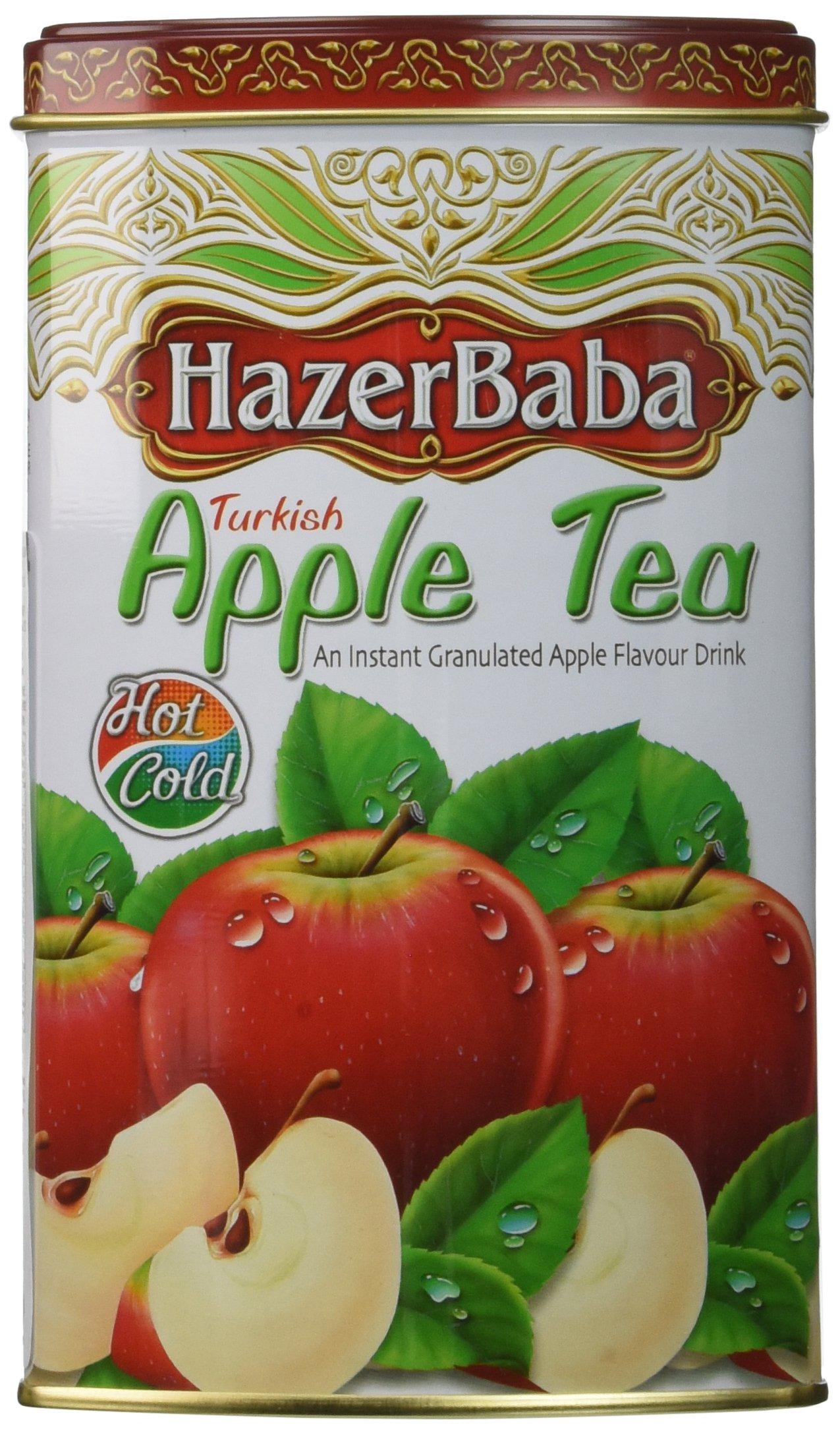 Hazer Baba Apple Tea, Turkish, 8.8-Ounce Tins (Pack of 4)