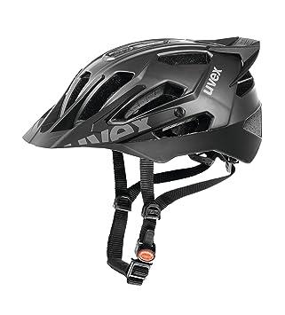 Uvex Quatro Pro Casco de Ciclismo, Hombre, Negro Mate, 52-57 cm