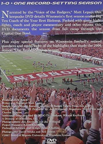Amazon 2006 Wisconsin Badgers One Record Set Artist Not Provided Movies TV