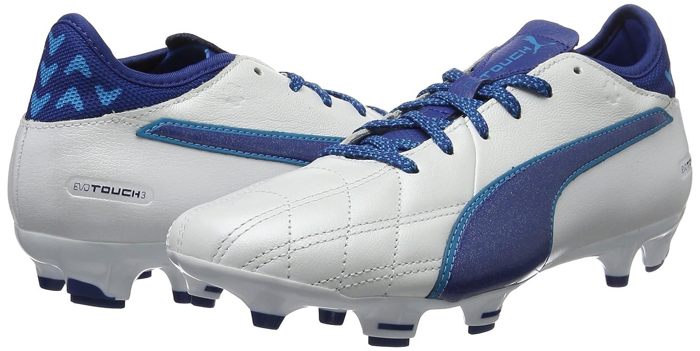 Puma Evotouch 2 Ag Ag Ag Scarpe da Calcio Uomo Bianco Puma White True Blue Blue Dan 9ac613