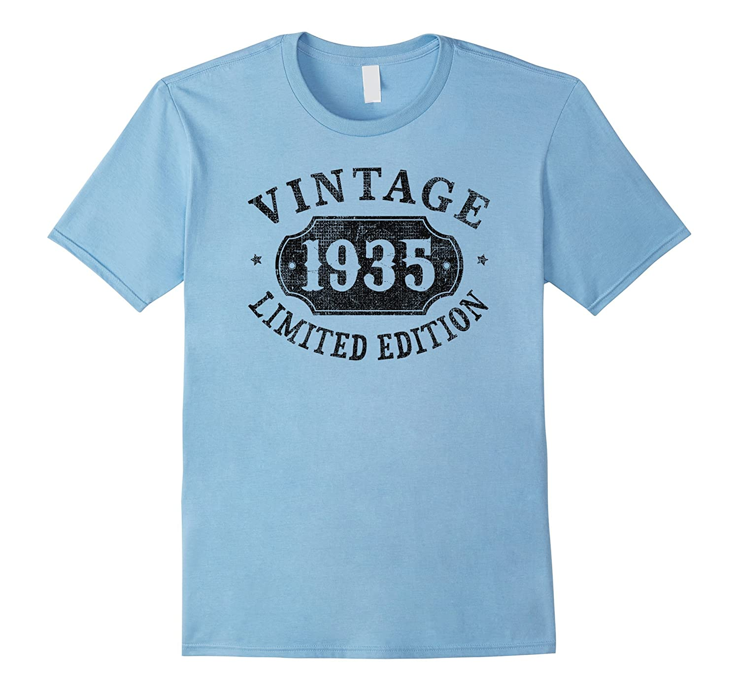 82 Years Old 82nd B-day Birthday Gift 1935 Limited T-Shirt-TH